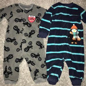 Carter's fleece pajamas